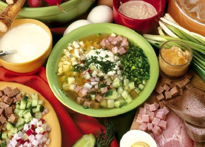 Первое письменное упоминание о традиционной заливки для окрошки явилось старинное блюдо – редька с квасом