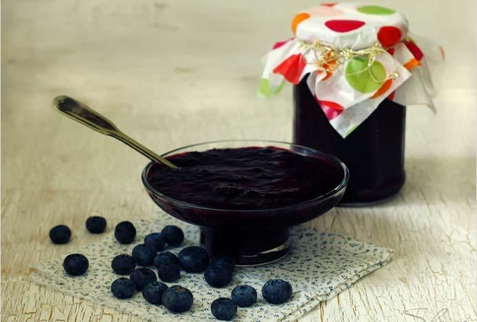 Голубику используют для приготовления варенья