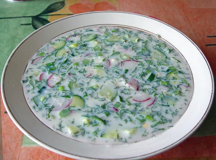 Весь процесс приготовления такого блюда занимает около получаса, если заранее сварить картофель и яйца