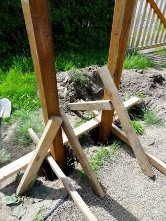 Независимо от типа арки, ее основание должно быть установлено качественно и надежно