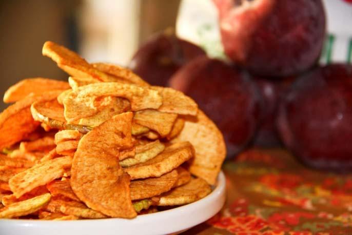 Сушеные яблоки обеспечат организм витамином C на весь сезон