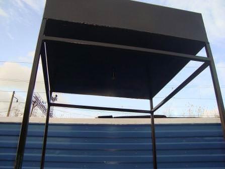 Бак для летнего душа: черная сталь с отличными свойствами подогрева