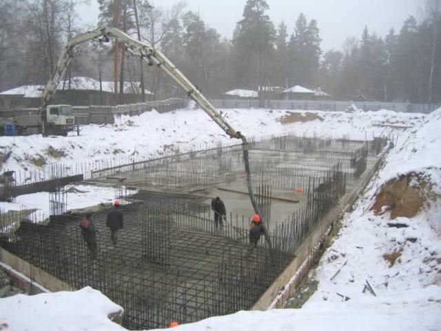 Бетон зимний саморез по бетону нагель купить