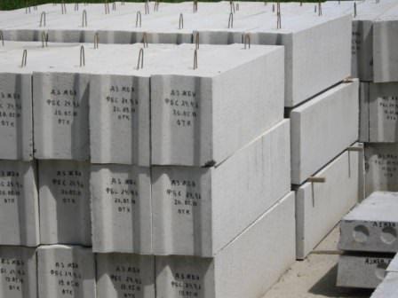 Бетонные фундаментные блоки: для дома, гаража, бани, склада