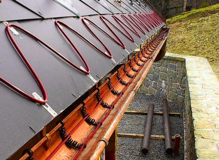 Кабельные системы нагрева крыши — лучший метод избавления от снега и льда зимой