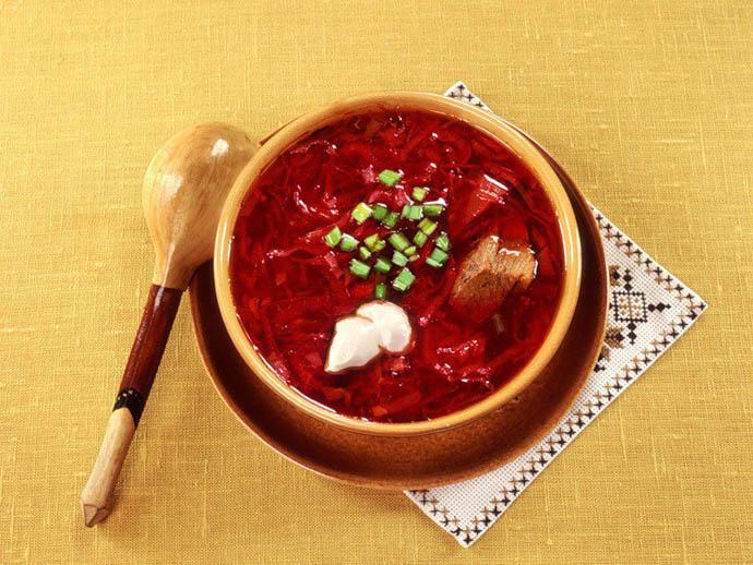 Борщ — традиционное блюдо восточных славян