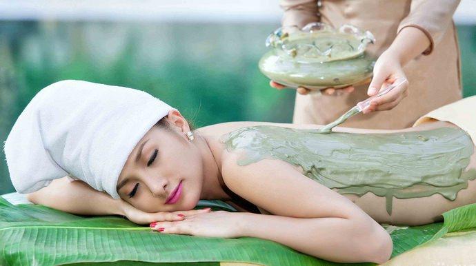 Из-за оказания лимфодренажного эффекта, бурые водоросли выполняют главную роль в антицеллюлитных кремах и обертываниях для похудения