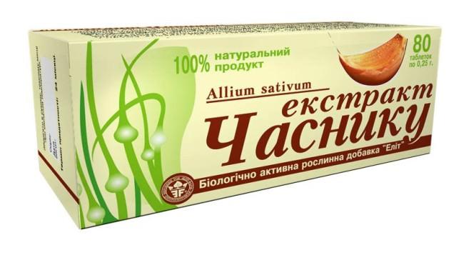 Фармацевтические компании выпускают несколько препаратов на основе чеснока