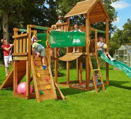 Как сделать детский городок на даче своими руками
