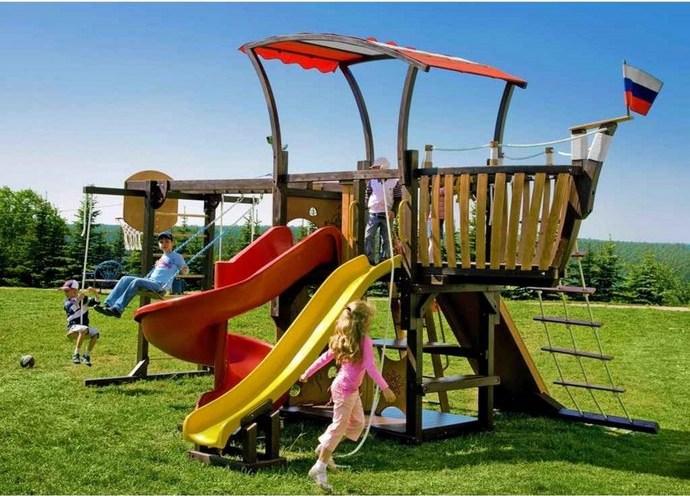 Спортивный или детский городок для дачи – это прекрасная возможность обеспечить полноценный активный и интересный отдых для детей