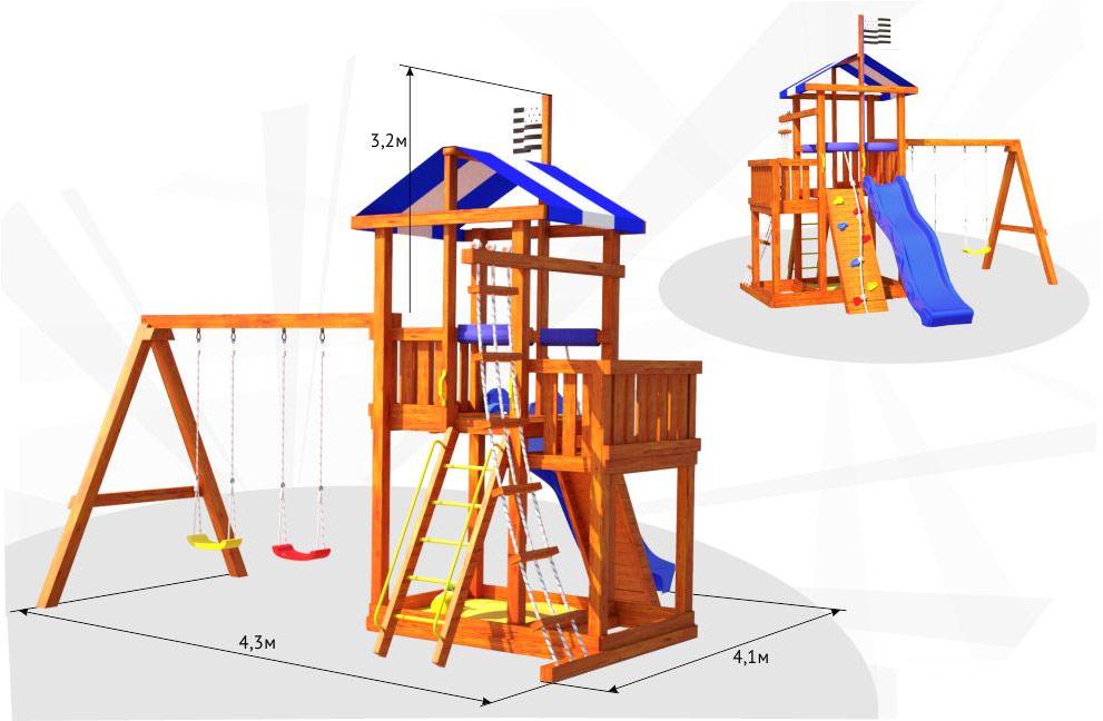 Как и при любом виде строительства, перед выполнением работ по самостоятельному возведению игровой зоны, требуется создать грамотный и максимально интересный проект