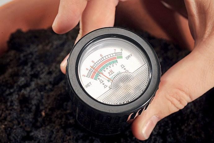 Измеритель почвы позволяет определять реакцию грунта, его влажность, температурные показатели и уровень освещенности