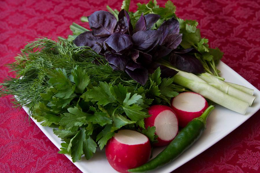Вкус кинзы дает возможность усилить аппетит и получить новые вкусовые ощущения
