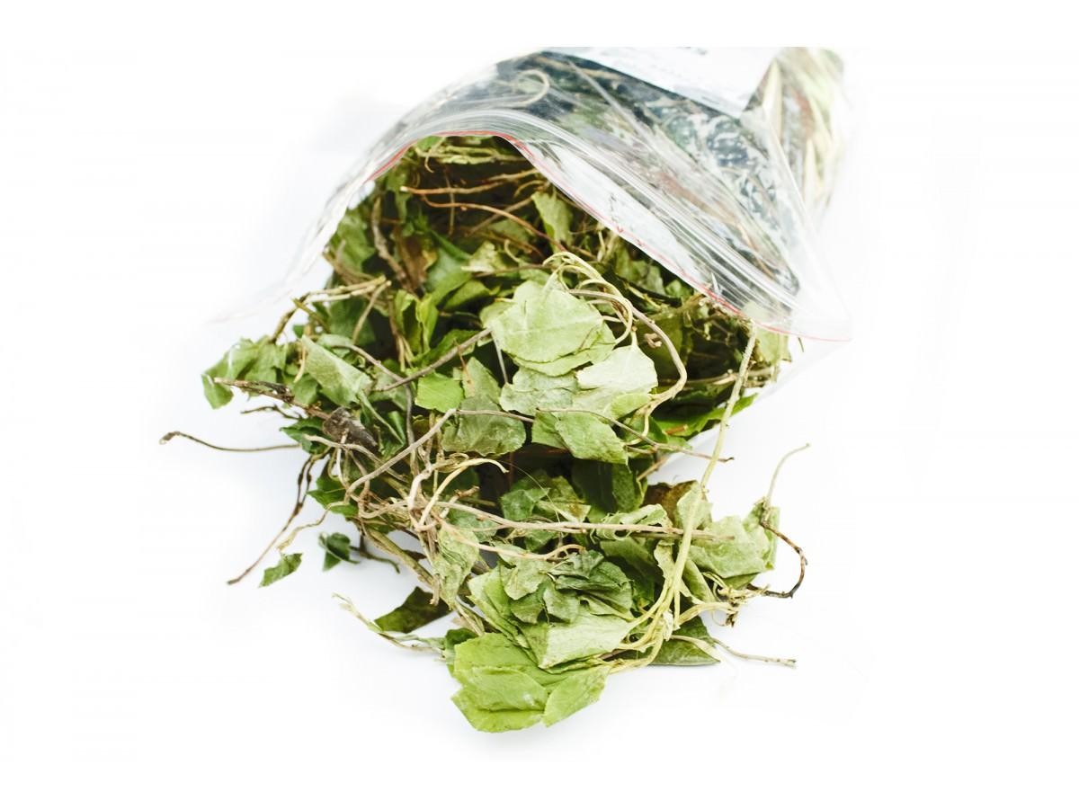 Хорошо упакованная высушенная трава хранится 2 года