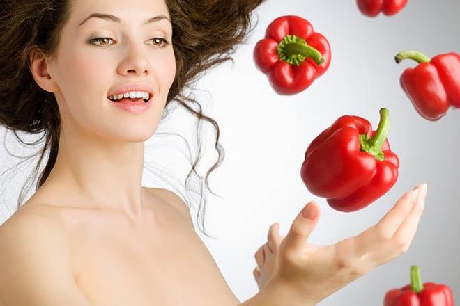 Паприку используют для восстановления и улучшения кожи