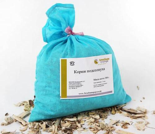 Из корня подсолнуха готовят отвар, приносящий облегчение при таких заболеваниях опорно-двигательного аппарата, как артрит, остеохондроз и отложение солей в суставах
