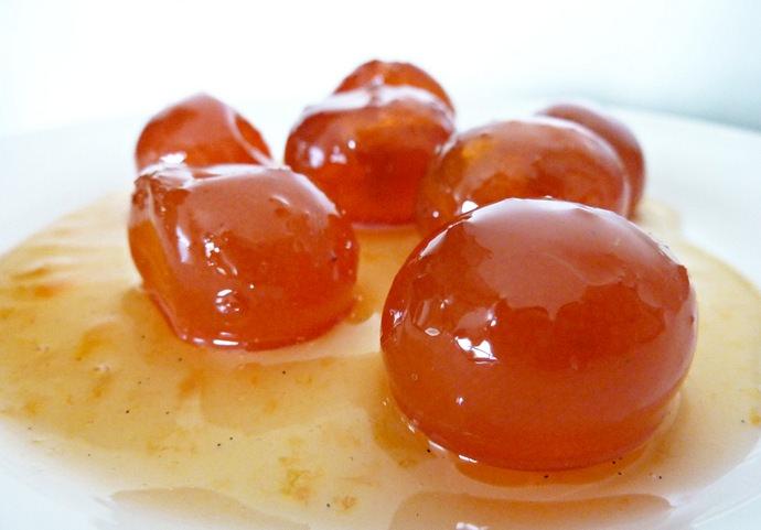 Плоды померанца широко применяются при приготовлении мармелада
