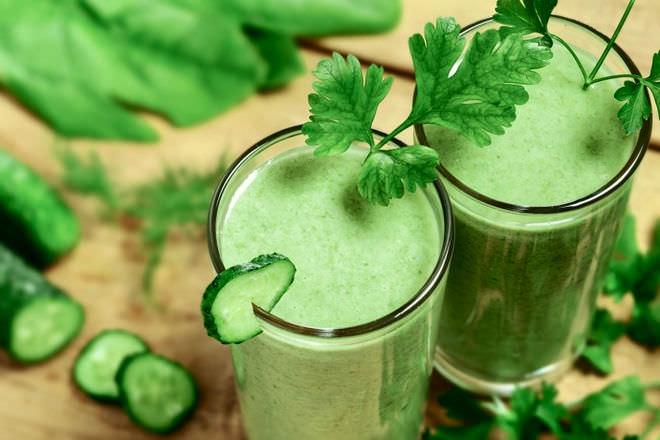 Сок из майских листьев репейника