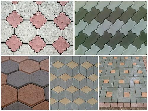 Способы и схемы укладки тротуарной плитки