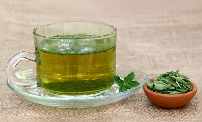 Фиточай на основе стевии – напиток, помогающий в избавлении от избыточной массы тела, а также заболеваний печени, желудка и поджелудочной железы