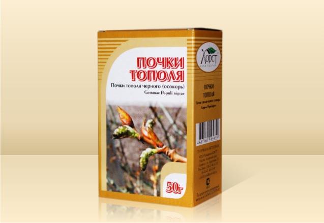 Препараты на основе листьев и почек тополя можно приобрести в аптеке