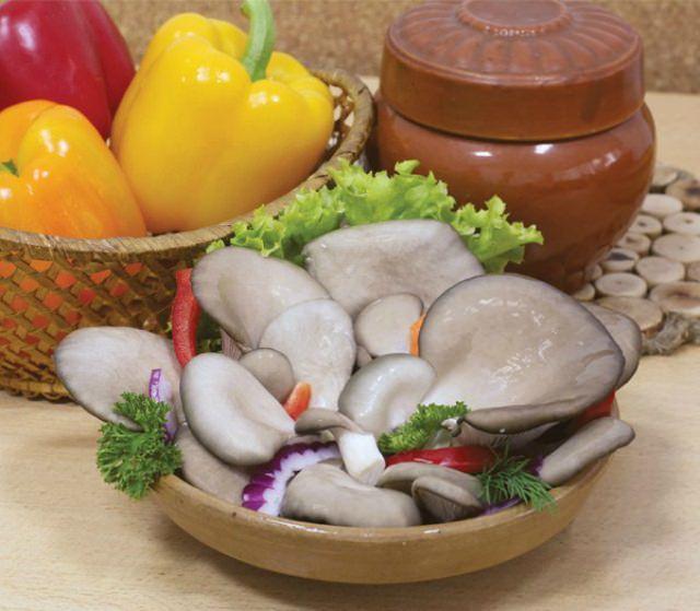 Мякоть вешенки настолько богата ценными для организма человека компонентами, что в кухне некоторых стран плодовые тела используются даже сырыми