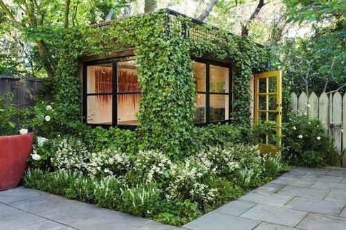 В последние годы садоводами всё чаще своими руками выполняется вертикальное озеленение