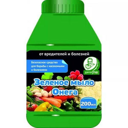 Зеленое мыло находит широкое применение в садоводстве