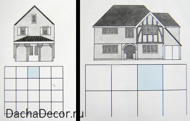 Пример проектирование по сетке