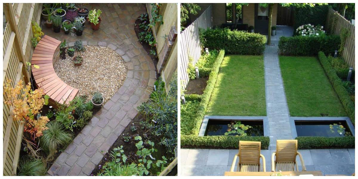 Слева – чувствуется гармония, покой, соразмерность, а справа… узнаете? Вот так выглядит большинство садов, которые проектируют некомпетентные ландшафтные дизайнеры