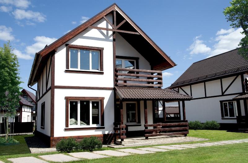 При взгляде на дома в стиле фахверк возникает желание потрогать их руками и если не поселиться в них, то какое-то время пожить, чтобы оценить это сооружение по заслугам