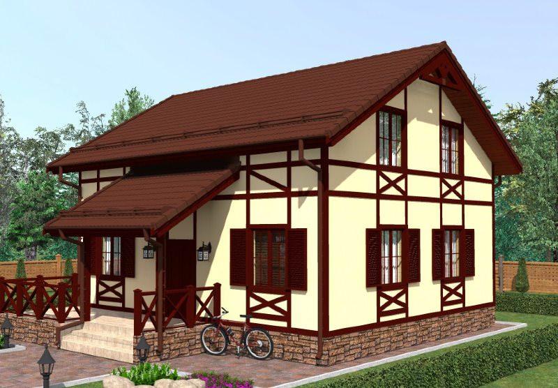 В период с 14 по 16 век немецкие, английские и другие европейские дома в стиле фахверк совершенствовались, а технологии их создания отрабатывались