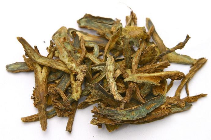 В медицинских целях заготавливаются корни и корневища травы шлемника
