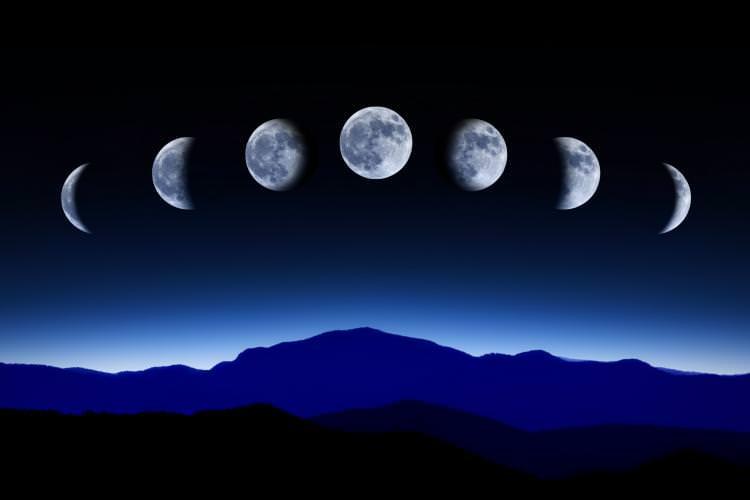 Самостоятельно определить лунную фазу совсем не сложно