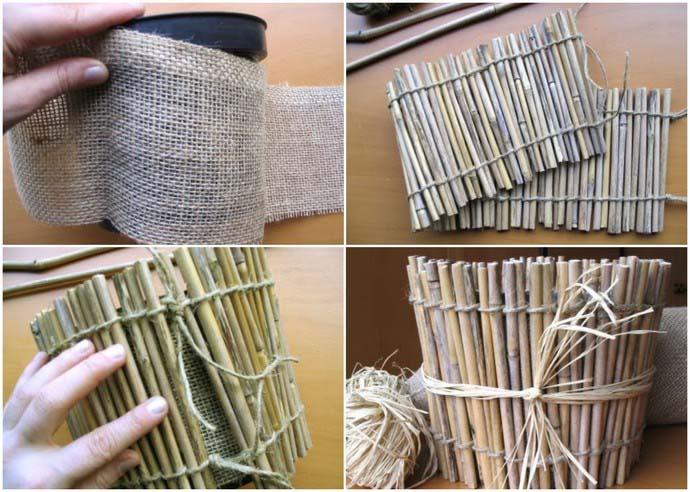 Процесс сборки деревянного кашпо прост и интересен