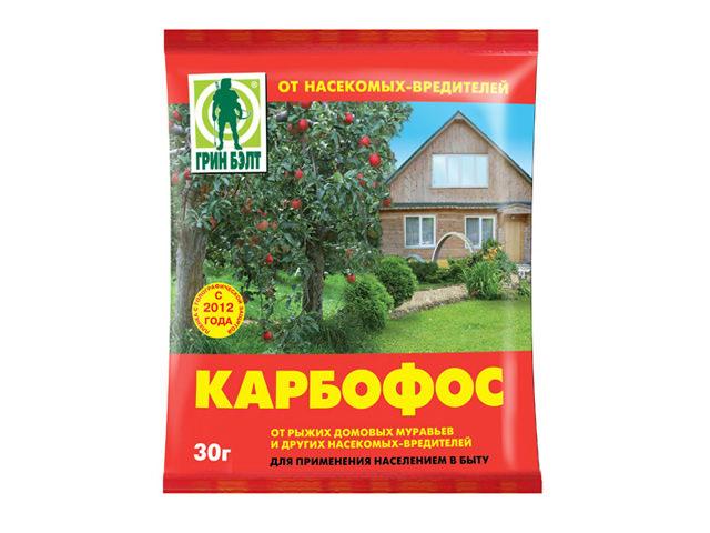 Состав Карбофоса относится к классу фосфорорганических соединений и активно используется в саду и огороде