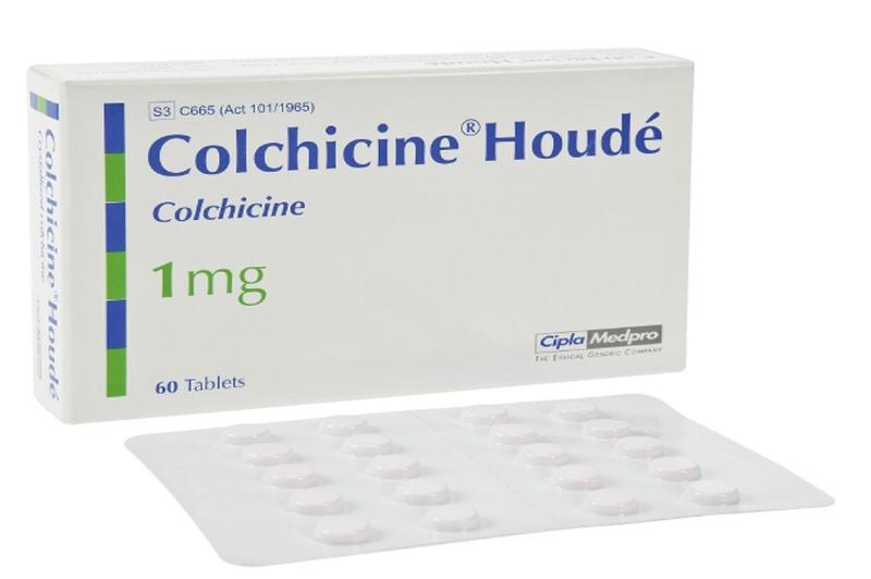 Колхицин является алкалоидом растительного происхождения
