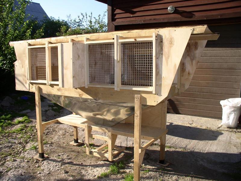 Если планируется выращивать кроликов породы гигант, размеры клетки для кроля должны составлять 80*100*65 см, а для самки с молодняком - 100*150*65 см.