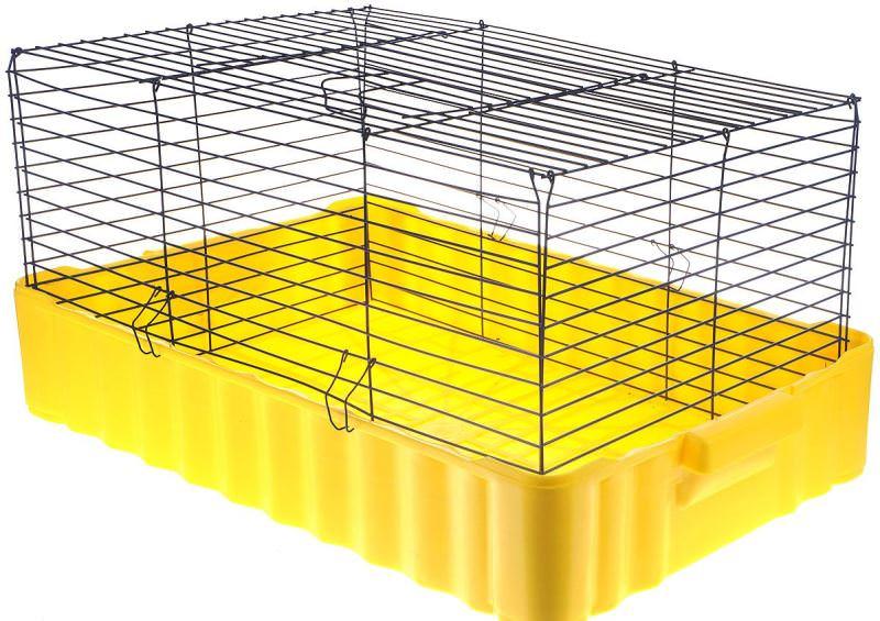 Клетки для декоративных кроликов своими руками можно сделать без особых затруднений