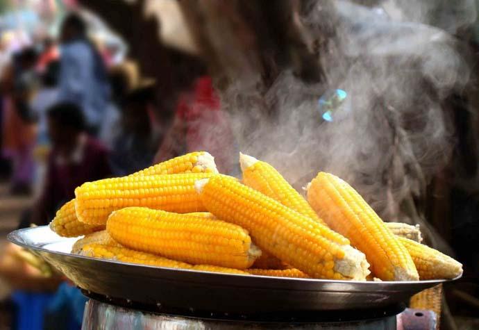 Кукуруза нормализует состав крови и улучшает обменные процессы