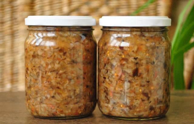 Рыжики широко используются также для приготовления грибной икры