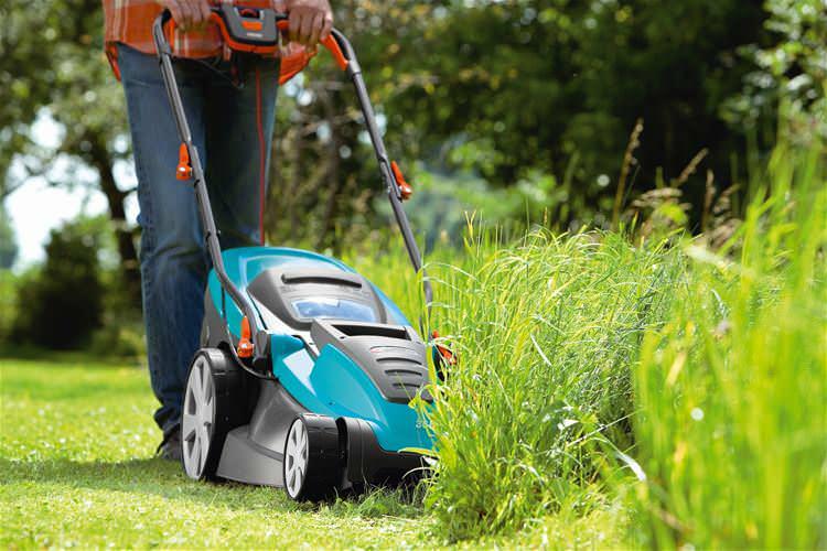 Уход за газонной травой заключается в проведении таких работ, как поливы и периодическая стрижка