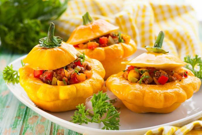 Патиссон — отличный овощ для приготовления диетических блюд