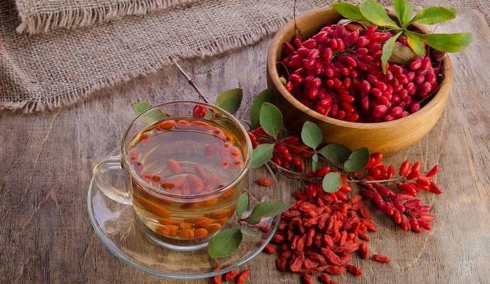 Популярный во многих странах барбарисовый чай чрезвычайно полезен