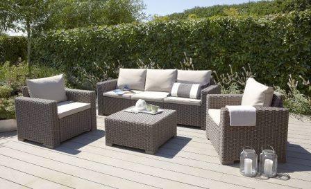 Советы по уходу за садовой мебелью