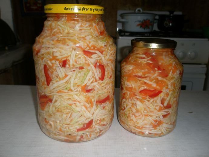 Капустный салат очень полезен, даже если он был заготовлен на зиму