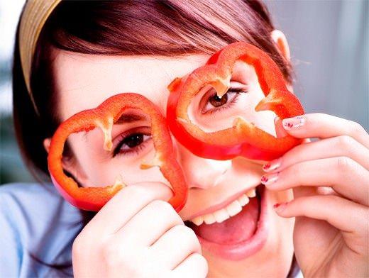 Высоко оцениваются свойства болгарского перца косметологами