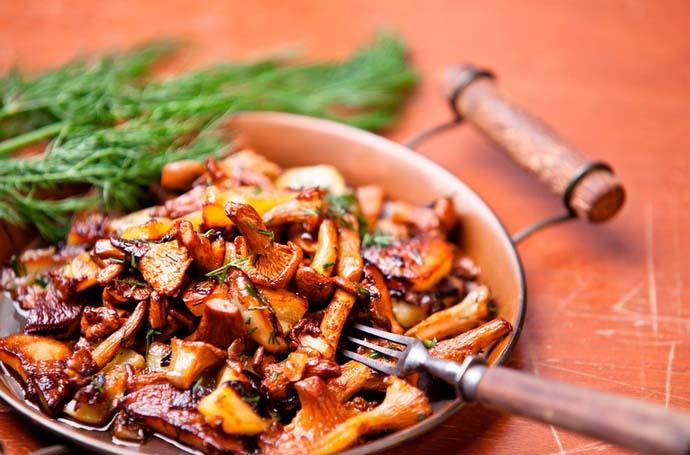 Из сыроежек можно приготовить значительное количество вкусных и полезных блюд