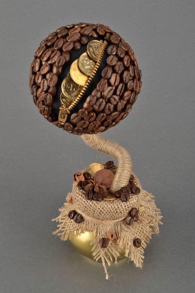 Самый популярный вариант дерева счастья — классический шар