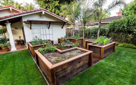 Высокие грядки являются одним из популярных способов организации огородного хозяйства или цветника